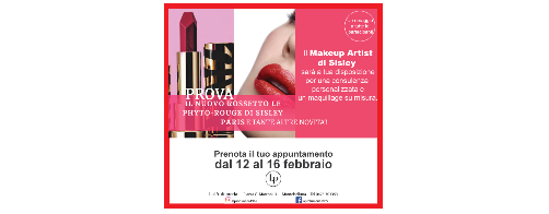 ... è SISLEY MAKE-UP WEEK!